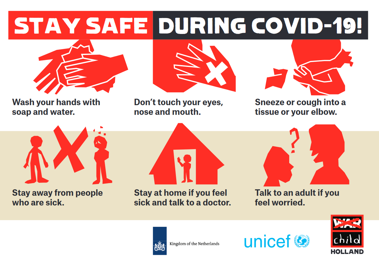 Stay Safe During COVID-19! [Infographic] | Child Protection Hub for South  East Europe