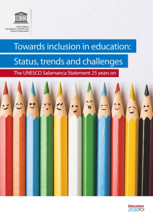 Towards inclusion in education: Status, trends and challenges