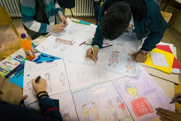 Joint workshops for children and parents in the  to mark the International Children's Day