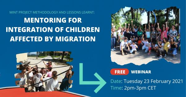 Mentoring for integration of children affected by migration